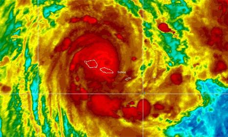 Cyclone Evan